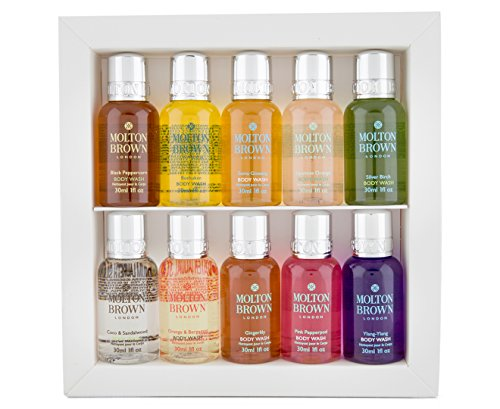 Molton Brown, Signature Scents, set di bagnoschiuma in formato viaggio
