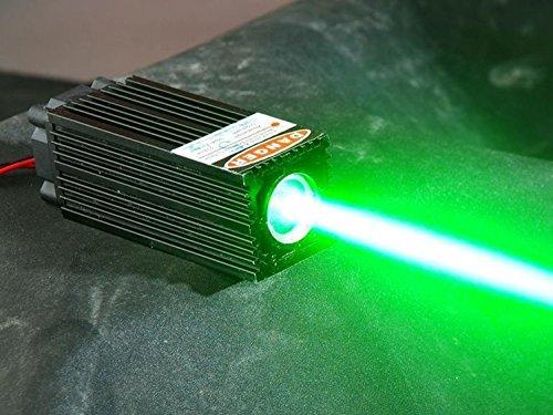 Fat Strahl 60mW 532nm grünes Laser-Punkt-Dioden-Modul W/TTL (Laser-diode 12 Mm)