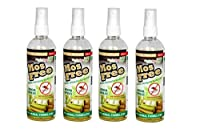 Herbo Pest MosFree 200ml Herbal Mosquito Repellent Room Spray Bottle : Pack of 4