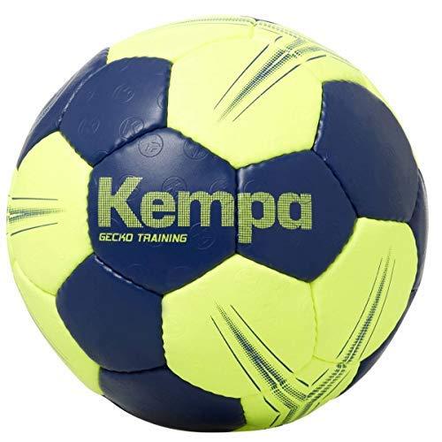 Kempa Gecko Training Core 2.0 Handball Größe 3 dunkelblau-Neongelb Deep blau/Fluo gelb, 3