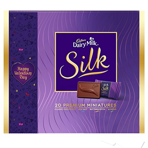 Cadbury Dairy Milk Silk Happy Valentine's Day Miniatures Collection, 200g