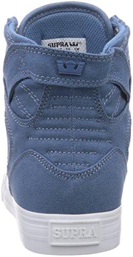 Supra Skytop D, Sneakers Hautes mixte adulte Blau (SLATE BLUE - WHITE     SLT)