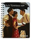Jack Vettriano 2019- Buchkalender, Taschenkalender, Kunstkalender, Pocket Diary  -  16,5 x 21,6 cm
