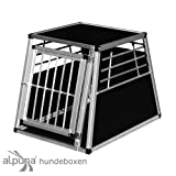 Alu Transportbox N1 im Format TxBxH 92x65x68,5cm mit Notausstieg