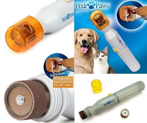 Pedi Paws–Cortaúñas eléctrico para perros y gatos–Talla uñas afilador Lima eléctrica Animales Domésticos máquina limare perro gato