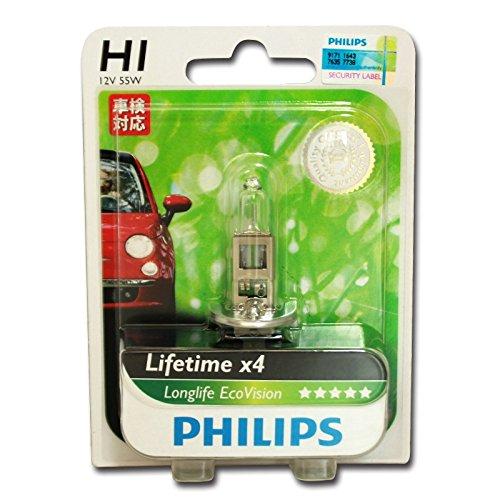 Preisvergleich Produktbild Philips 12258LLECOB1 Scheinwerferlampe H1 Long Life Eco Vision