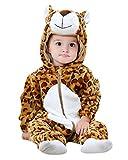 Kidsform Bébé Combinaison Unisexe Grenouillères Animal Pyjama Dors Bien Déguisement Costume Cartoon Mignonne Barboteuse Monster1 3-4Y
