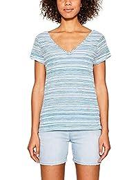 edc by Esprit 067cc1k002, T-Shirt Femme