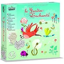 Créa Lign' - Cl99 - Tampon À Imprimer - Le Jardin Enchante
