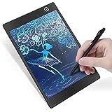 LCD Writing Tablet LCD Grafiktablett Lcd Schreibtafel Lcd Grafik Tablette Schreiben Zeichnung Tabletten Geschenke für Kinder Schülern Spaltenformel Malen Büro Treffenl Memo Notizen 9,7-Zoll Schwarz