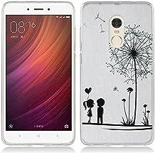 Funda Xiaomi Redmi Note 4 - Fubaoda - 3D Realzar, Moda Patrón, Gel de Silicona TPU, Fina, Flexible, Resistente a los arañazos en su parte trasera, Amortigua los golpes, funda protectora anti-golpes para Xiaomi Redmi Note 4