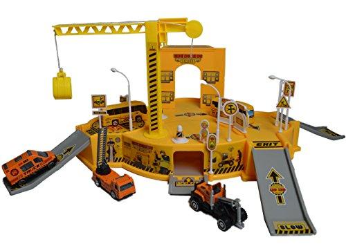 Große Konstruktion Baumeister Baustellen Mega Fahrzeug Figur Spielset und Play Pack für Jungen