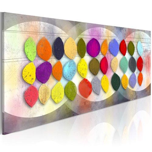 murando - Bilder 80x40 cm - Leinwandbilder - Fertig Aufgespannt - Vlies Leinwand - 1 Teilig - Wandbilder XXL - Kunstdrucke - Wandbild - Abstrakt Kunst 0101-71 (71 Kunst)