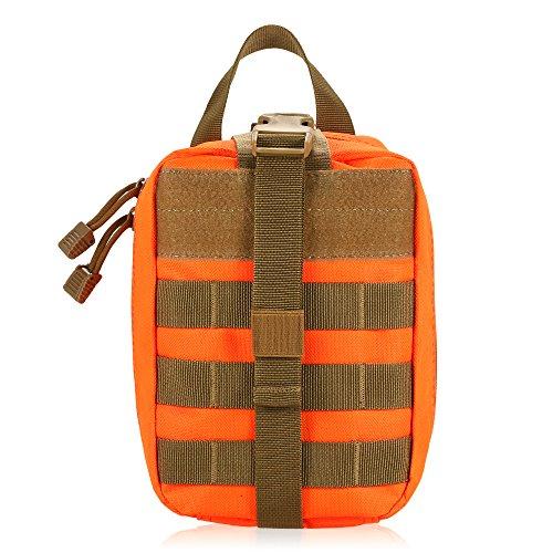 Lixada Multifunktions Medizinische Tasche Molle Taktische Erste Hilfe Tasche Notfalltasche für Outdoor Zuhause Reisen -