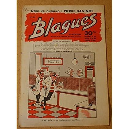 Blagues n° 81 - dans ce numéro Pierre Daninos