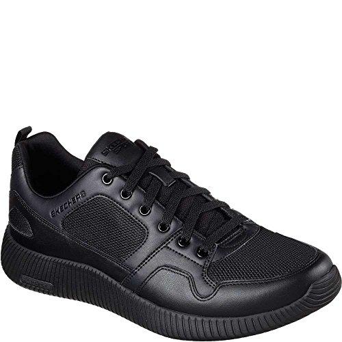 Skechers Sneakers PELLE UOMO Nero