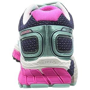 Brooks Adrenaline GTS 16 - Zapatillas de Entrenamiento Mujer, Azul (Bluetint/Pinkglo/Peacoat 418), 36.5