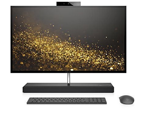 HP ENVY 27-b256ng (27 Zoll 4K UHD Touch) All-in-One PC (Intel Core i5-8400T, 16GB DDR4, 1TBHDD, 256GB SSD, Nvidia GeForce GTX 1050 4 GB GDDR5, Windows 10) schwarz