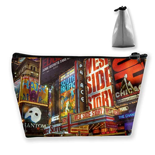 Womens Times Square (Times Square Theater District Reise-Kulturbeutel tragbare Make-up-Hüllen)