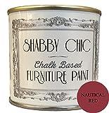 nautica rosso vernice per mobili base di gesso per uno stile shabby chic. 1litro