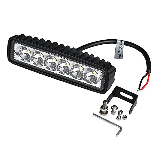 Preisvergleich Produktbild Auto Licht,  bobogo 18 W Spot LED-Licht Arbeit Bar Lampe Driving Nebel Offroad SUV 4 WD Auto Boot LKW