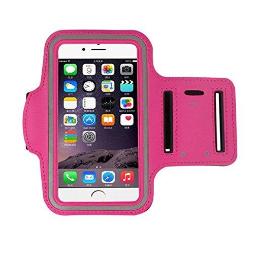 Ouneed® Hülle für iphone 7 4.7 Zoll , Armband Gym Running Sport Arm Band Cover Case für iPhone 7 4.7 Zoll (4.7 Zoll, Blau) Rosa