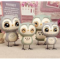 Preisvergleich für Treasure-House Owl Piggy Bank Money Bank Gift Owl Piggy Bank Personalized Coin Saving Bank for Kids Nursery Gift Decor