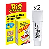 The Big Cheese Mouse and Rat Attractant, Natural Poison-Free Bait, Attracts Mice and Rats To Trap PACK OF 2