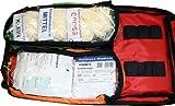 Erste Hilfe Notfallrucksack für Sportvereine, Event & Freizeit – Nylonmaterial mit weißen Reflexstreifen - 3