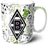 "VFL Borussia Mönchengladbach 16983 Fohlenelf-Artikel - Tasse ""Doodle"" 0"