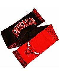 Chicago Bulls NBA Wappen Design Fade Schal