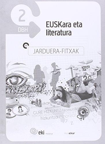 EKI DBH 2 Euskara eta Literatura 2. Jarduera fitxak (EKI 2) - 9788415586593