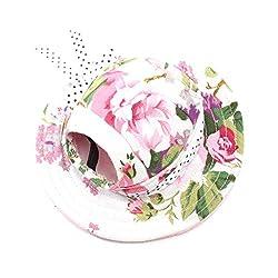 Generic Pet Dog Cat Kitten Flower Princess Mesh Strap Hat Cap Sunbonnet Size M