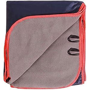 REDCAMP 200x150cm Camping Decke, Thermo Wasserabweisende Groß Stadiondecke, Warm Outdoor Decke für Camping, Flugzeugreisen, Backpacking, Segeln, Reise, Terrasse und Heimnutzung