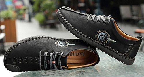 NSPX Scarpe casual Uomo Uomo Scarpe da indossare con scarpe da ginnastica Scarpe da passeggio / Scarpe sportive , 40 BLACK-43
