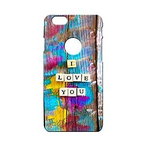 BLUEDIO Designer Printed Back case cover for Apple Iphone 6 (LOGO) - G5677