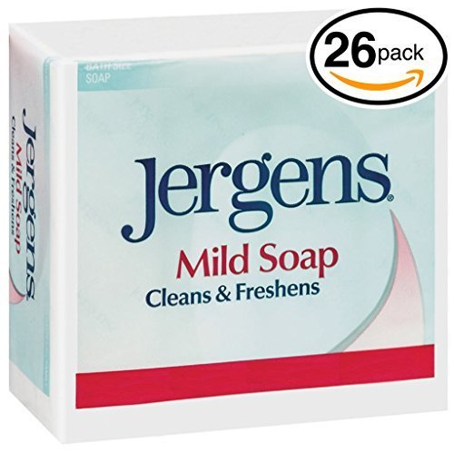 (PACK OF 26 BARS) Jergens ORIGINAL MILD Bar Soap. LUXURIOUS