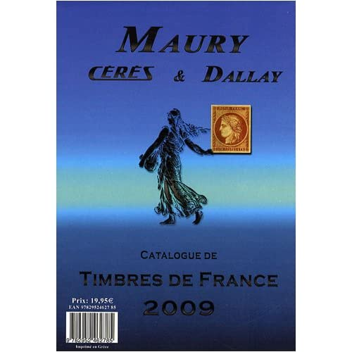 Catalogue Dallay de timbres de France