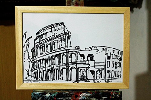 colosseum-in-rome-design-magic-marker-on-a4-paper-of-size-inch-116x003x82-inch-original-drawing-by-t
