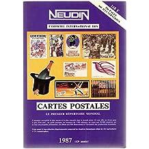 Catalogue Neudin 1987, l'officiel international des cartes postales