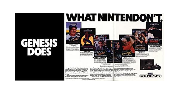 Vinteja charts of - Genesis Does What Nintendon't! (1) - A3 Poster