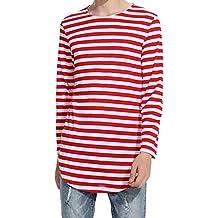 Rayas Rojas Camiseta Camiseta Amazon Rojas Rayas es es Amazon rtxrR0wq
