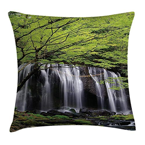 Squre Decorative Cushion Covers Colorful Fruit Apple Cartoon Cushions For Sofa Linen Print Throw Pillows Custom Gift Pillowcase Diversified Latest Designs Table & Sofa Linens