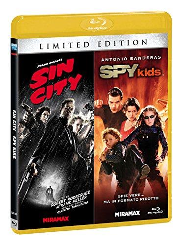 Sin City + Spy Kids(limited edition) [Blu-ray] [IT Import] - Kids 3d Spy