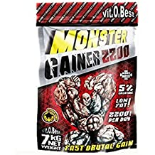 Vitobest Monster Gainer 2200 Sabor Vainilla - 3000 gr
