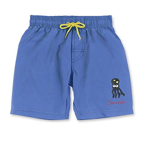 Sterntaler Baby-Jungen Schwimmwindel Badeshort, Blau (Enzian 377), 80