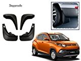 #7: Shoppersville Premium Quality Car O.E type Mud Flaps for KUV100 (set of 4 with screw)