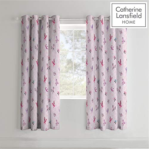 Catherine Lansfield Kids Princess Glamour Cortinas