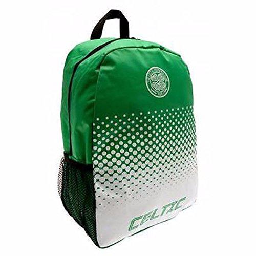 Celtic FC Fade Fußball Wappen Design Rucksack Grün/Weiß