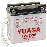 YUASA-Batterie YAMAHA 125ccm DT125 Enduro Baujahr 1974-1981 (12N7-3B)